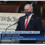 Steve Scalise przemawia w Kongresie